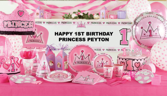 1st Birthday Party Theme Your little girl is the apple of your eye and on