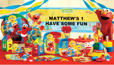 Elmo Themed Birthday Party On Images Of 1st Theme First Themes Wallpaper