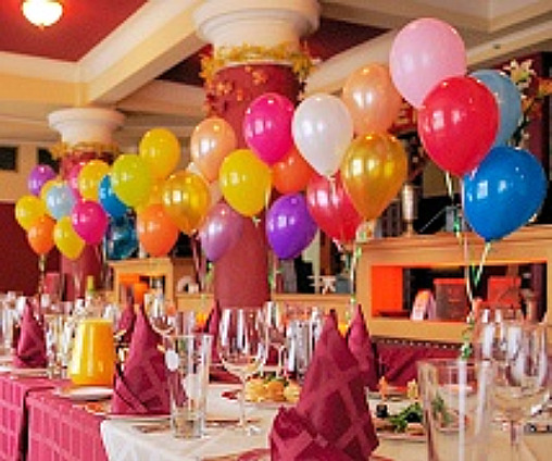 Birthday Balloons, Balloon Centerpieces, Decorating with Balloons