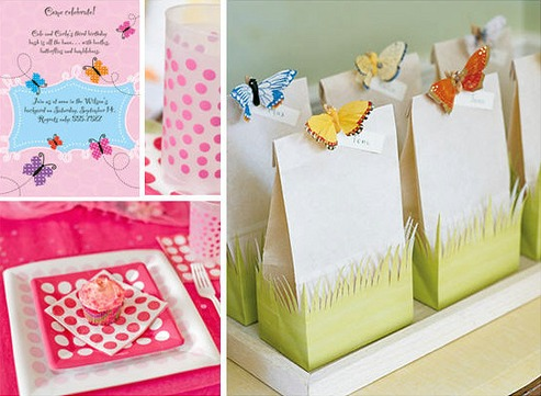 Butterfly Birthday Party Supplies On