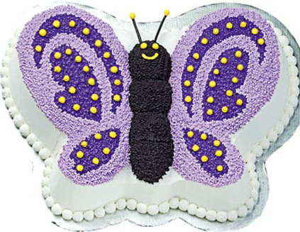Butterfly Birthday Cake on Birthday Cake Designs  Cake Decorating Designs  Kids Birthday Cakes