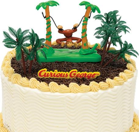 Love Monkey Cake Decorationslove Monkey Party Cake Decorations