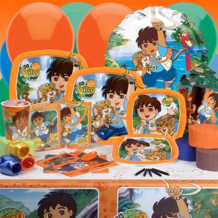 Diego Birthday Party