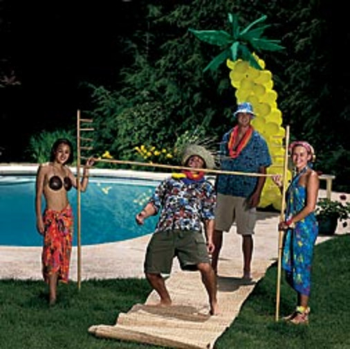 Hawaiian luau party games for adults for Birthday games ideas for adults