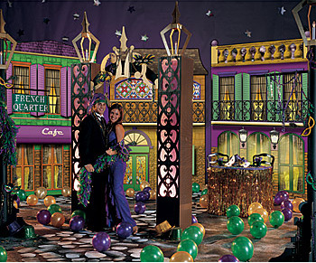 Mardi Gras Theme Party