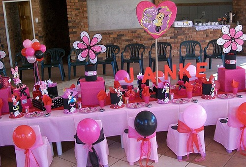 Minnie mouse party supplies minnie mouse cake minnie for Baby minnie mouse party decoration ideas