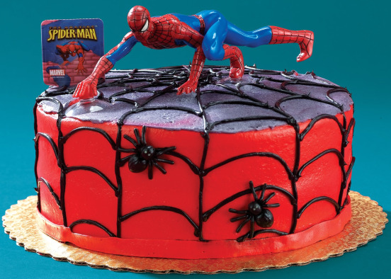Birthday Cake Ideas Spiderman : Spiderman Birthday Party Ideas - Spiderman Party Supplies