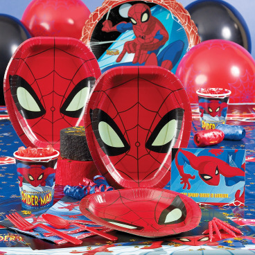 Spiderman Birthday Party Ideas - Spiderman Party Supplies