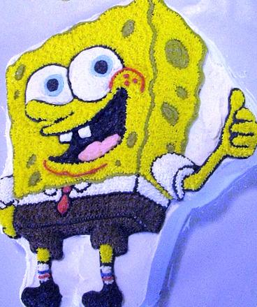 Wilton Spongebob Cake Pan Directions