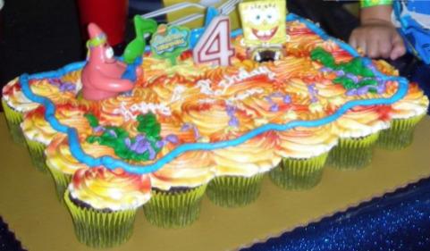 birthday cakes for girls 2nd birthday. Spongebob Birthday Cake