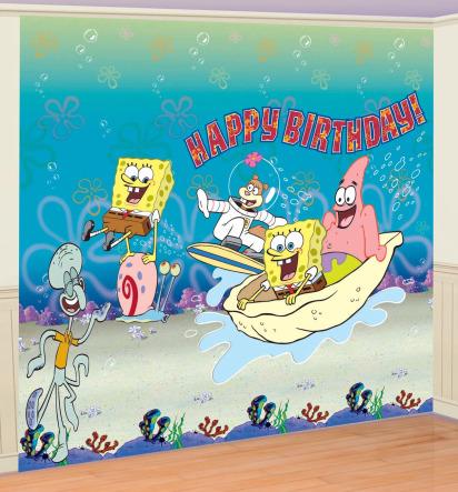 Spongebob Birthday Party