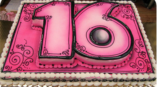 Excellent Sweet 16 Birthday Cake Idea 507 x 282 · 98 kB · jpeg