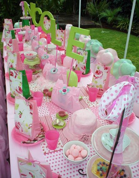 Tea party ideas parties english