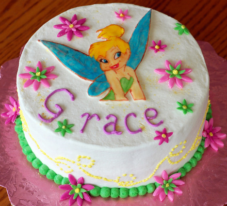 Tinkerbell Birthday Cakes