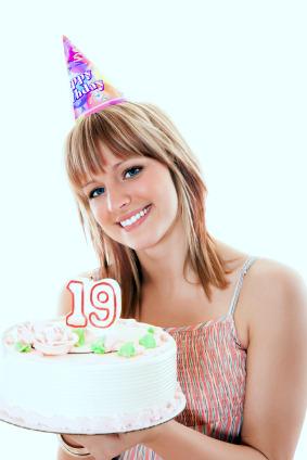 19th birthday girl