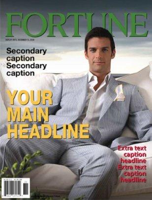 funny fortune fake magazine cover