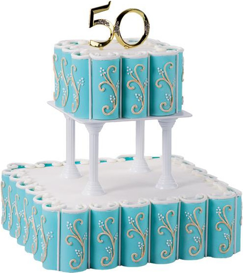 50 gold cake