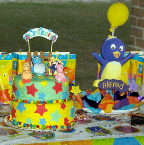 Backyardigans party ideas backyardigans party supplies for Backyardigans party decoration
