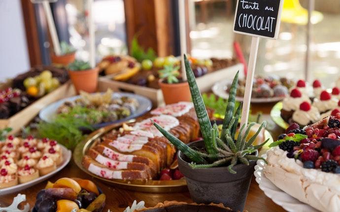 Birthday Buffet Table