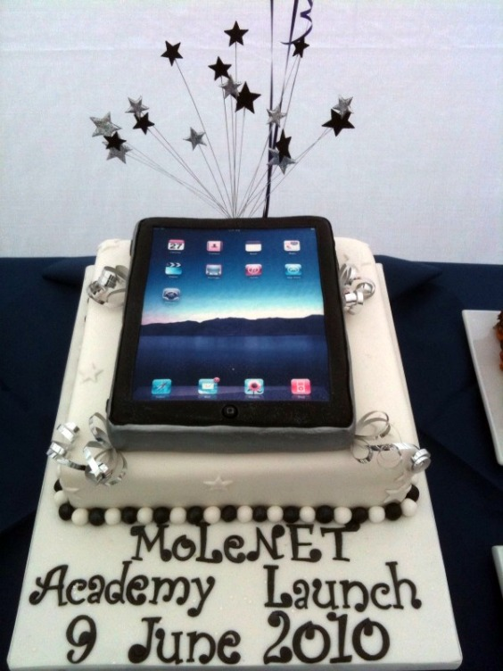 electronic device themes birthday cakes