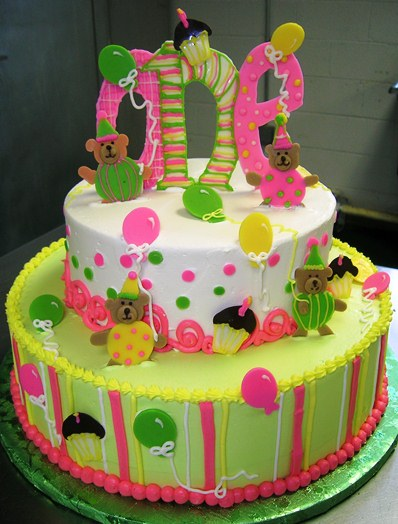 carnival themes birthday cakes