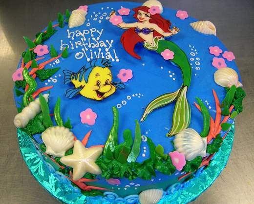 magical figures themes birthday cakes
