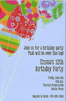 Birthday Invitation Wording Birthday Invitation Ideas