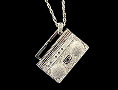 hip hop parties bling necklace