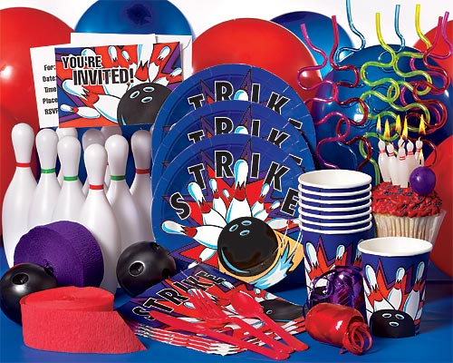 Bowling Party Ideas Bowling Party Supplies Bowling