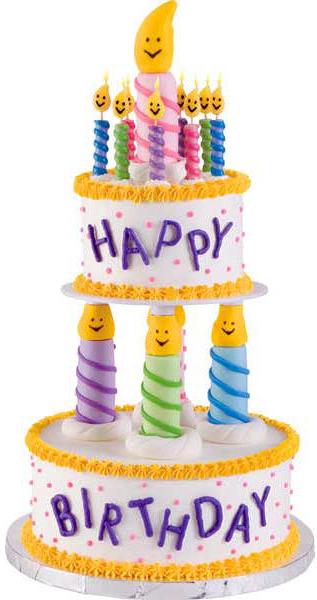 candle cake