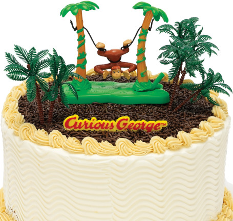 curious george party cake