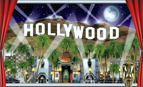 hollywood party decorations