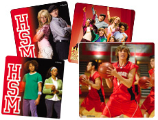 high school musical party stickers