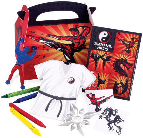 Karate Party Favors