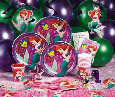 Little Mermaid Party Supplies