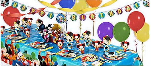 mickey party kit