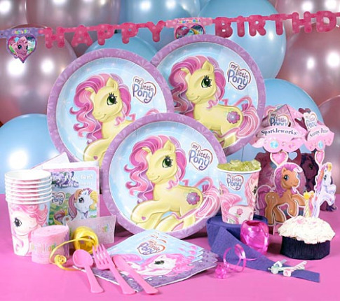 Little Pony Party Supplies