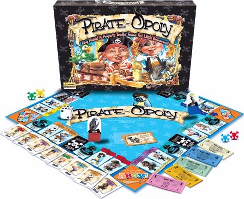 pirate party games