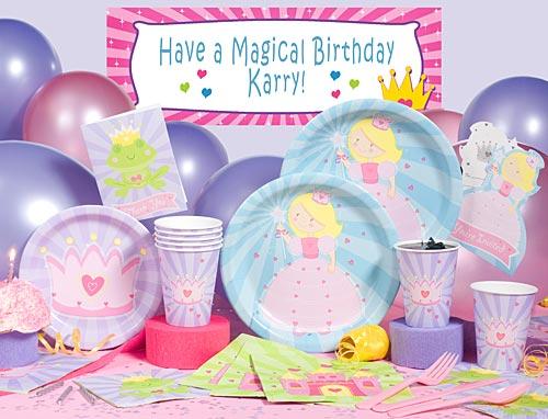 princess birthday party supplies