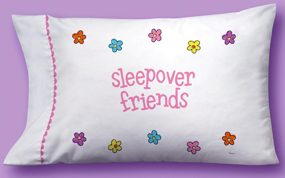 Slumber Party Pillow