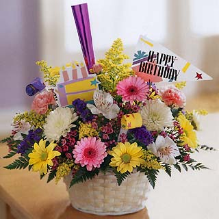 Birthday Flower Bouquet