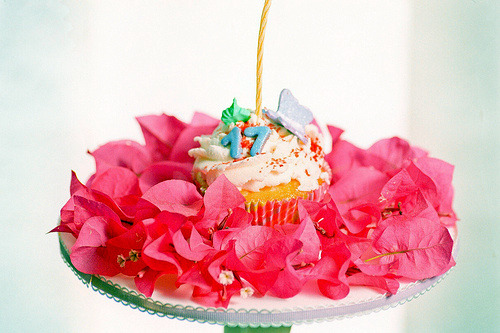 17th birthday party ideas cupcake