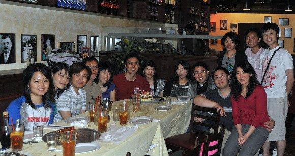 18th birthday dinner