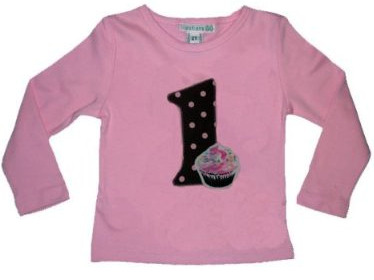 1st bday shirt girl