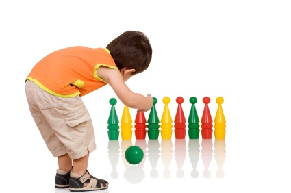 baby bowling games