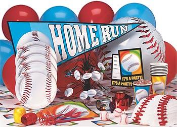 baseball party supplies