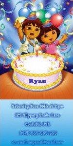 Dora Birthday Invitations