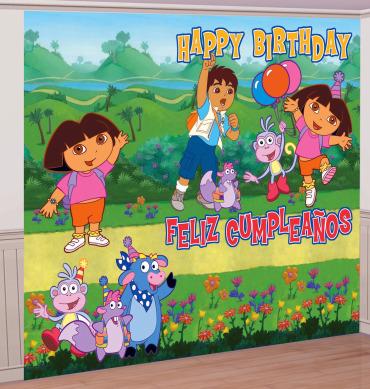 dora birthday party decorations