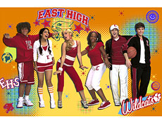 high school musical party poster