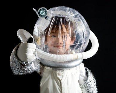 kid astronaut